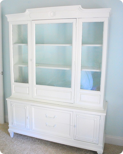 buffet hutch from right