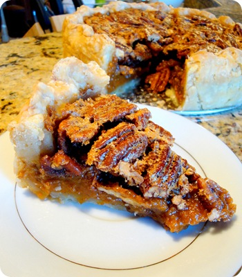 sweet potato pie slice