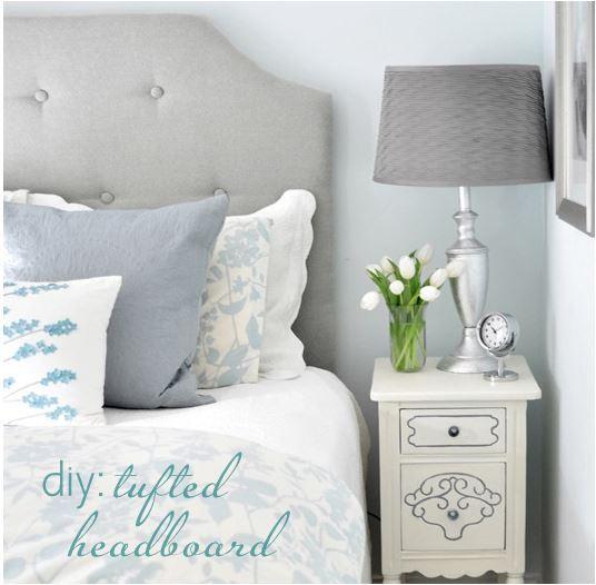 diy simple tufted headboard  centsational girl, Headboard designs