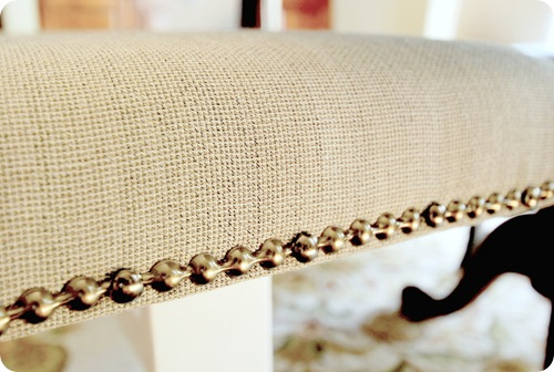 nailhead trim up close