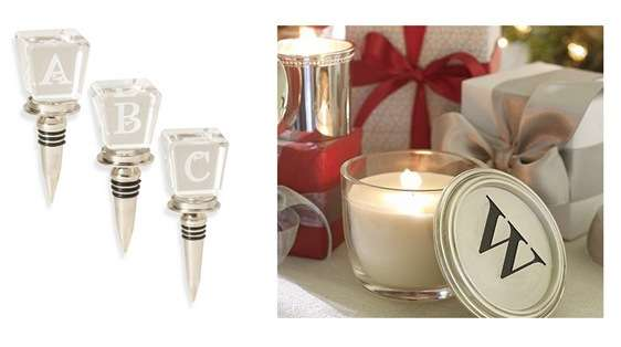 wine stopper and candle