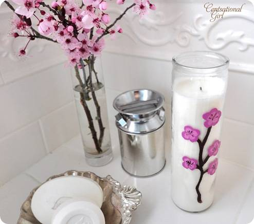 blossom candle