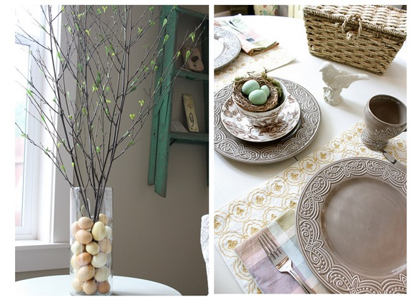 melissa inspired room tablescape