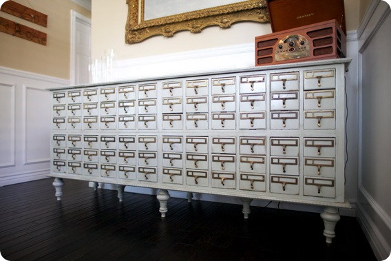 card catalog buffet dreambookdesign