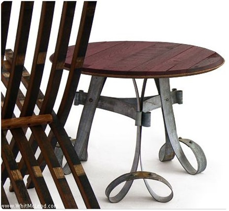 whit mcleod wine barrel table