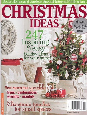 bhg christmas ideas cover
