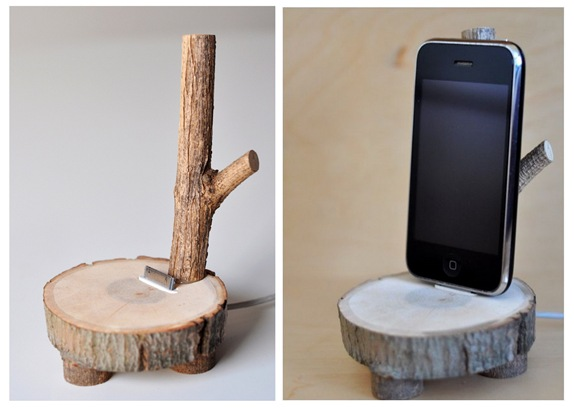 tree branch ipod charger