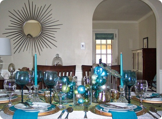 laura peacock tablescape