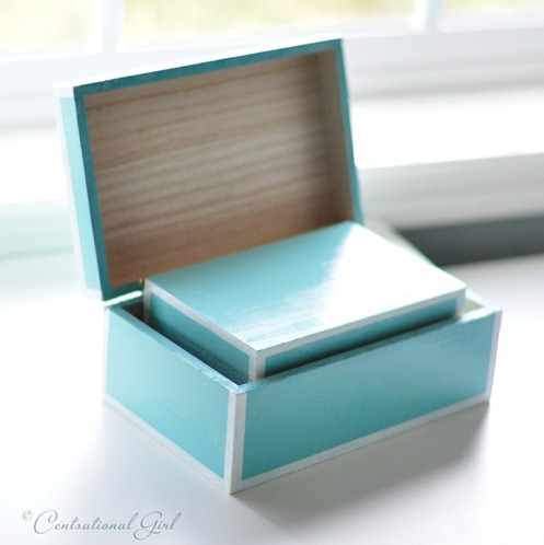 blue nesting boxes cg