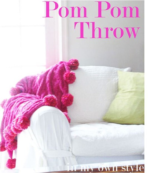 pom pom throw