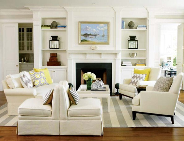 new england home mag white built ins
