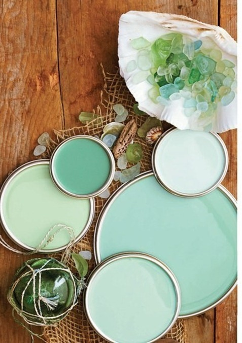sea green paint colors