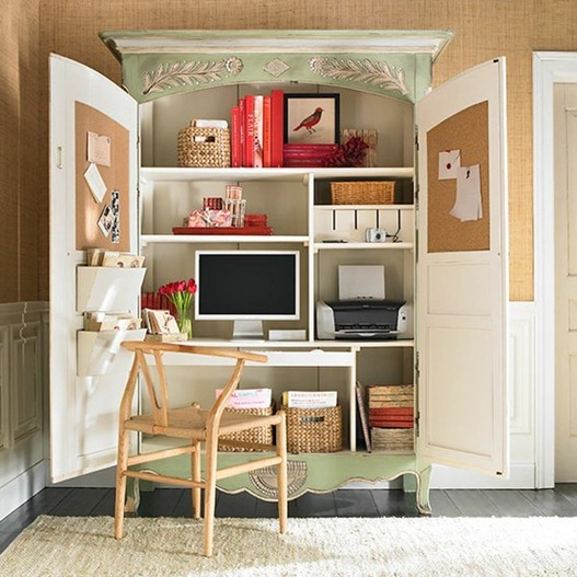 small space solutions: home offices | centsational girl