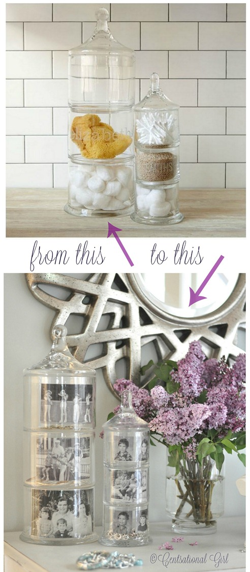 apothecary memory jars before and after