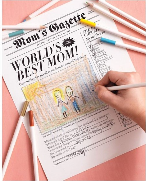 mothers day newspaper martha stewart