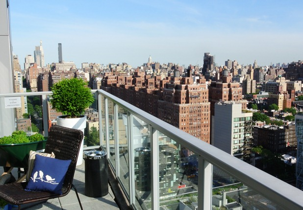 new york rooftop terrace view