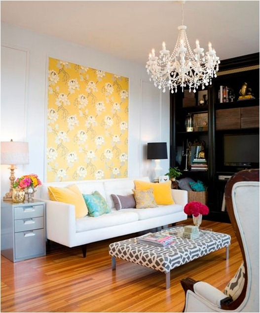 yellow wallpaper panel apt therapy
