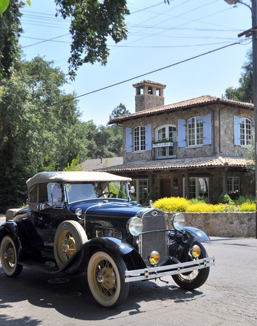 belle maison old time car