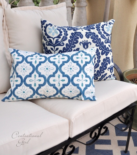 easy outdoor pillow covers