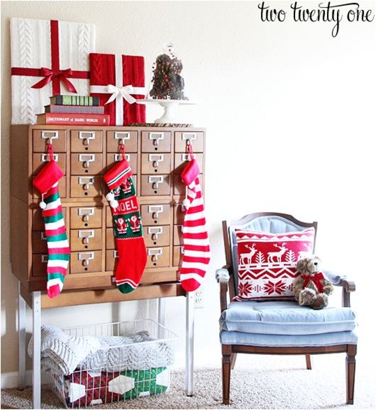 christmas display card catalog twotwentyone