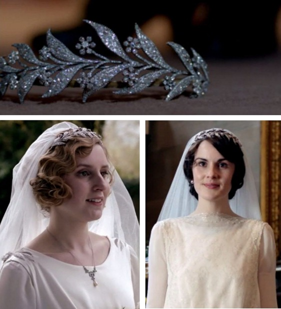 diamond headband downton abbey