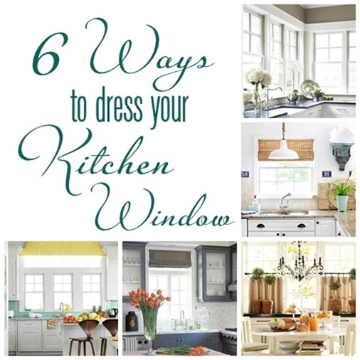 The Zoo Covering Kitchen Windows: 6 Ways To Dress A Kitchen Window