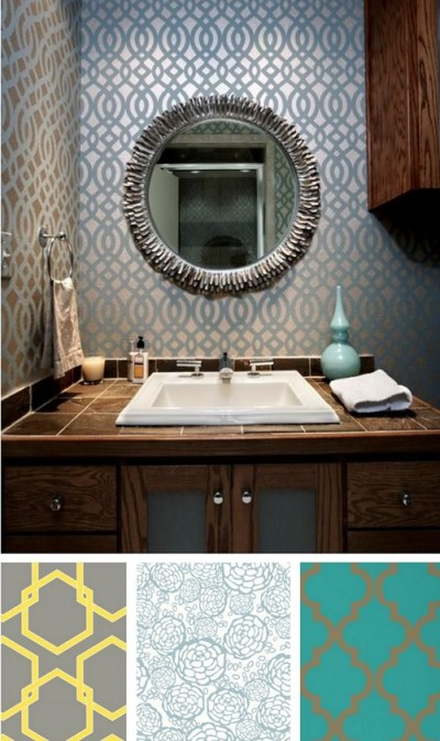 Solutions for Renters: Bathrooms | Centsational Style