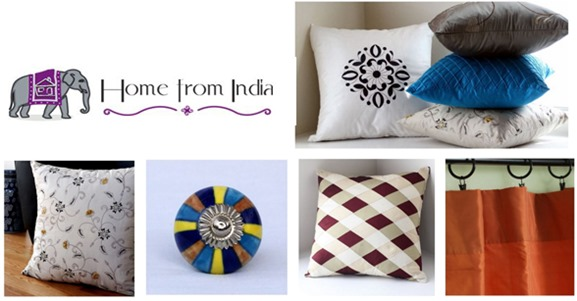 home from india decor