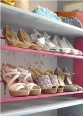 high heel shoe rack
