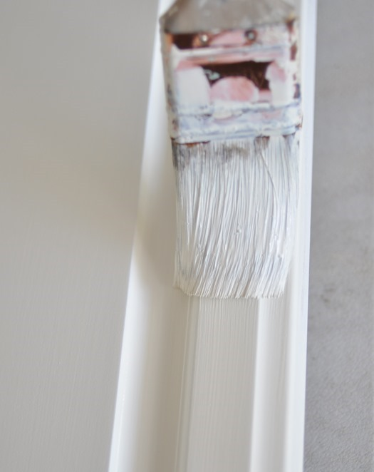 purdy paintbrush white paint