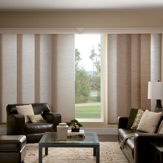 Window Treatments for Sliding Doors | Centsational Girl