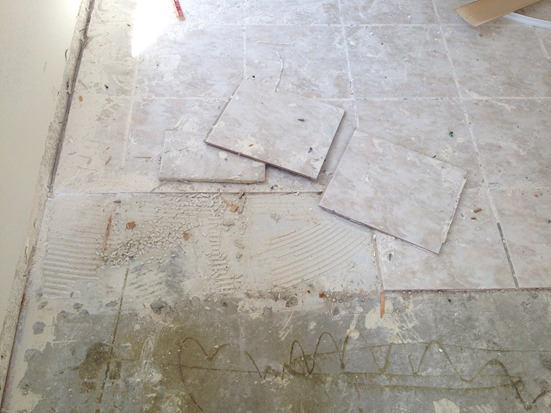 ceramic tile removal