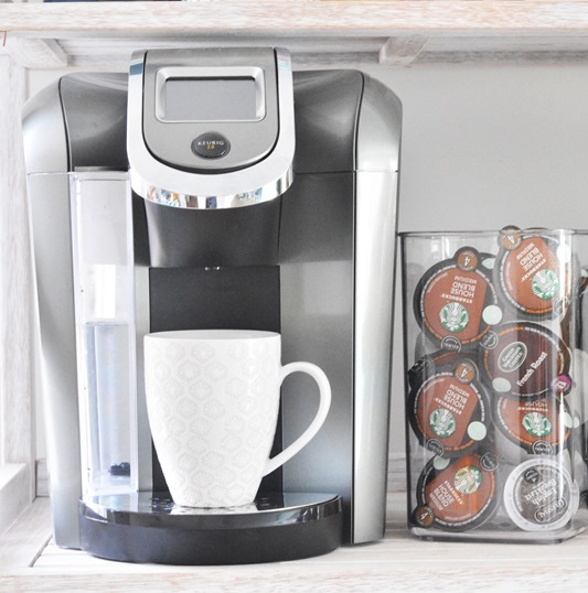 keurig coffee station