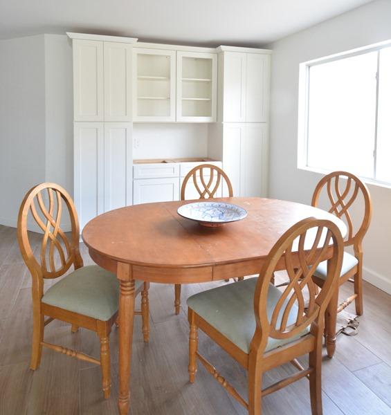 Wood Pedestal Dining Tables Centsational Girl
