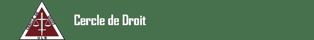 Cercle de Droit ULB Logo