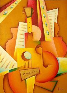 spanish-guitar-painting