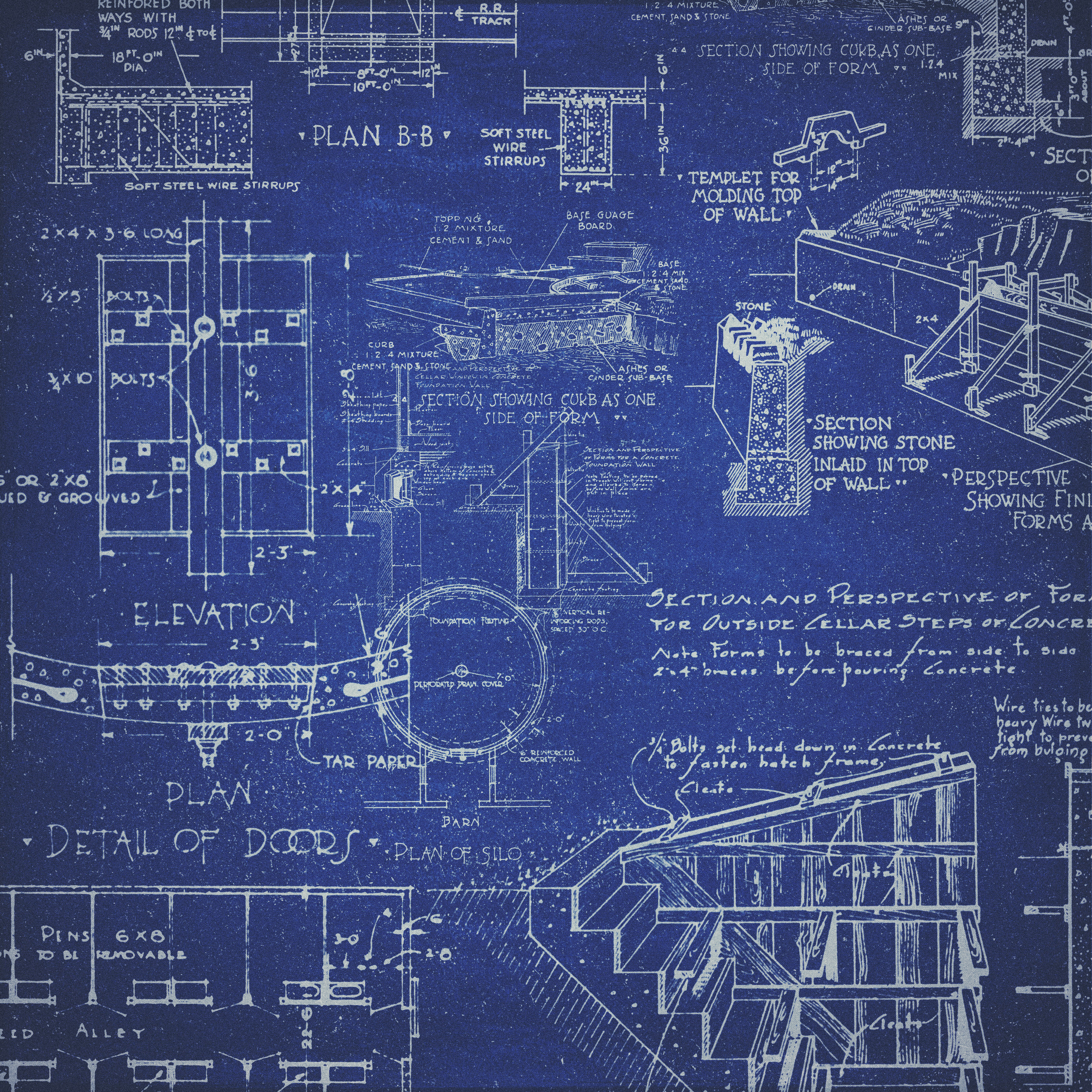 Freebie cu vintage blueprint background hg designs for Buy blueprint paper