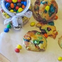 Cookies moelleux - comme des enfants - banane et M&M's