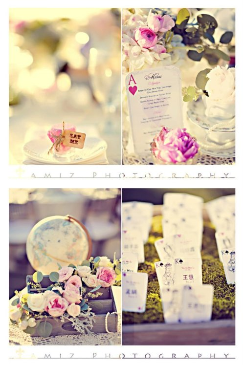 alice in wonderland wedding