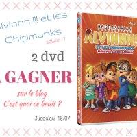 2 dvd Alvin et les Chipmunks à gagner !
