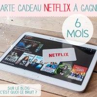 Mes séries sur Netflix #concours