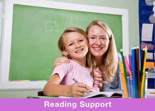 Receive support in the latest evidenced based treatments from Reading Specialists