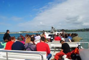 Bahía de Santander, pasajeros barco