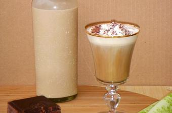 Irish Coffee with Homemade Irish Cream