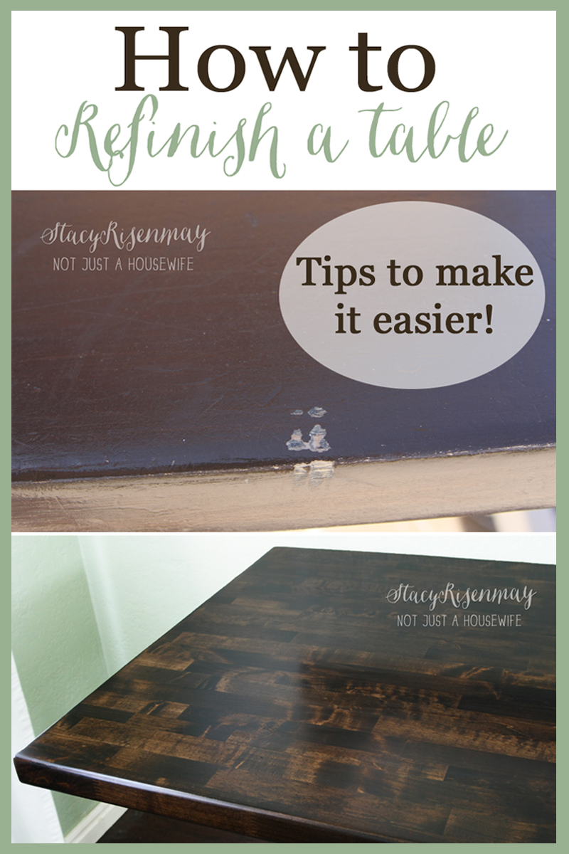 how to refinish a table refinish kitchen table how to refinish a table