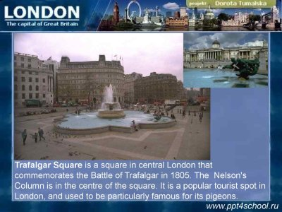 London is the capital city of the United Kingdom - презентация онлайн