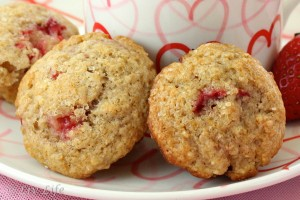 San Diego Strawberry Muffins