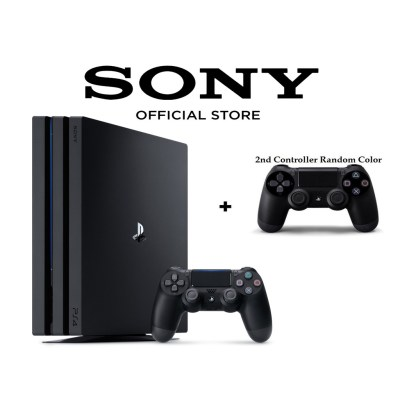 Sony PlayStation 4 Pro 1TB / PS4 Pro 1TB with Extra Controller Gaming Console | Shopee Malaysia