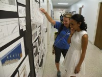 Students Pin Up Design Charrette Project