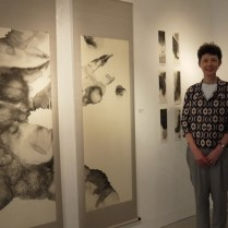 image of me with art work